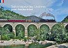 Le train à vapeur des Cevènes sur le viaduc d'Anduze en direction de la bambouseraie