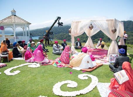 Sikh Wedding Decorations - Bay Area Gurdwaras & Outdoor Sikh Weddings