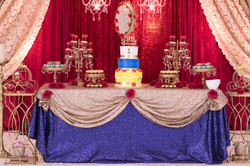 Birthday Cake & Cake Table Decor