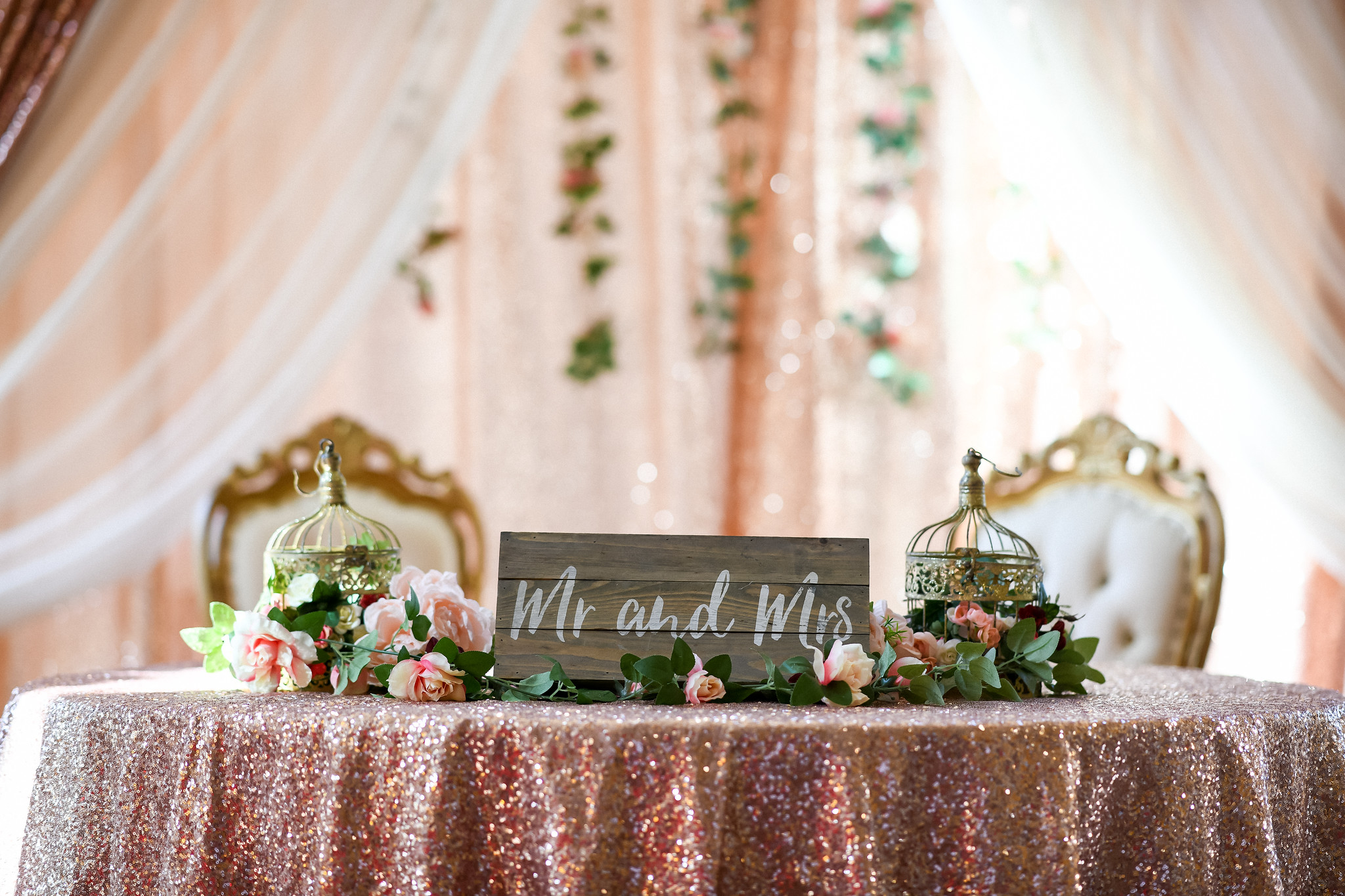 Engagement & Reception Backdrops