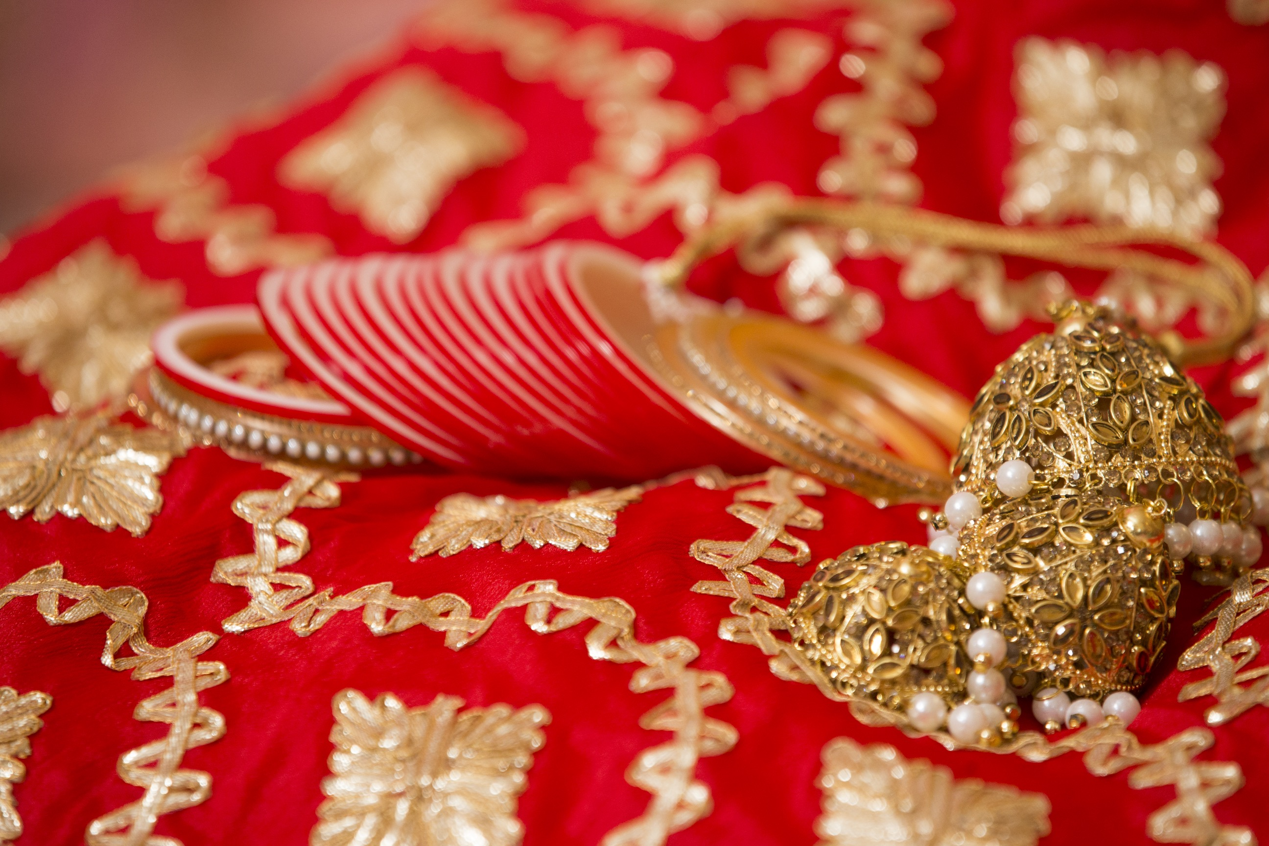 Jasneet & Sean's Mehndi, Mayian & Churra Ceremony Decorations!