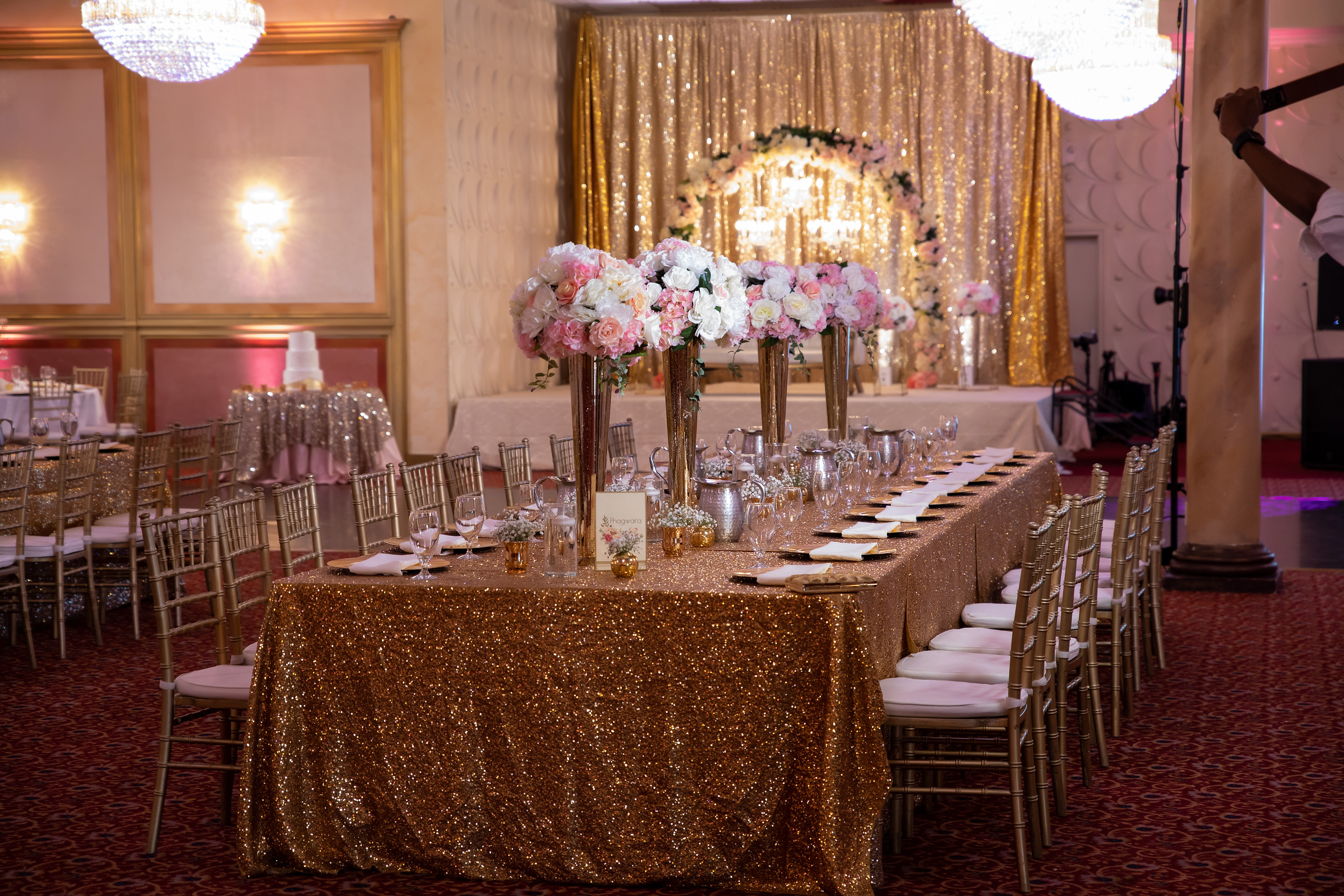 Indian Wedding Reception Decorations Bay Area