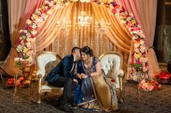 Nimir & Vikram - Engagement Decor