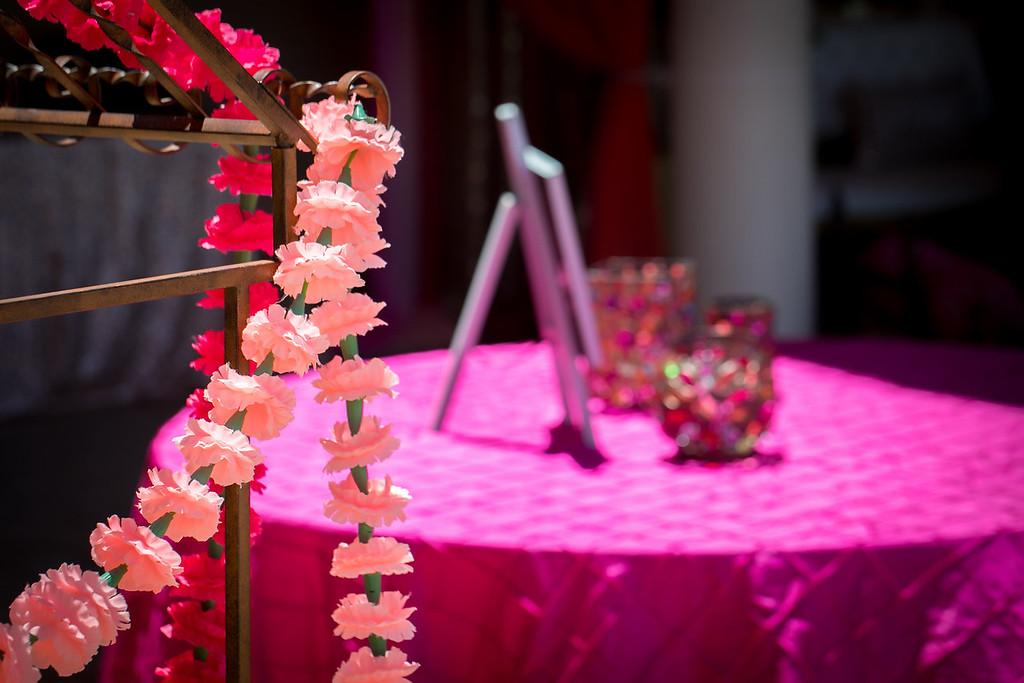 Jasmeer & Harnek's Mehndi & Sangeet Decorations!