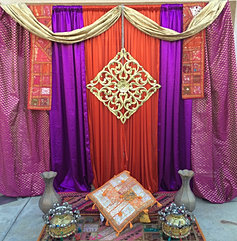 Indian Wedding Moroccan Themed Decor