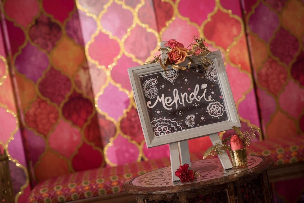 Mehndi Decorations