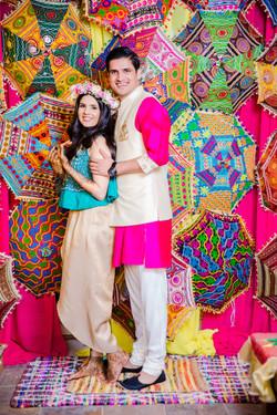 Colorful Pre-Wedding Decorations
