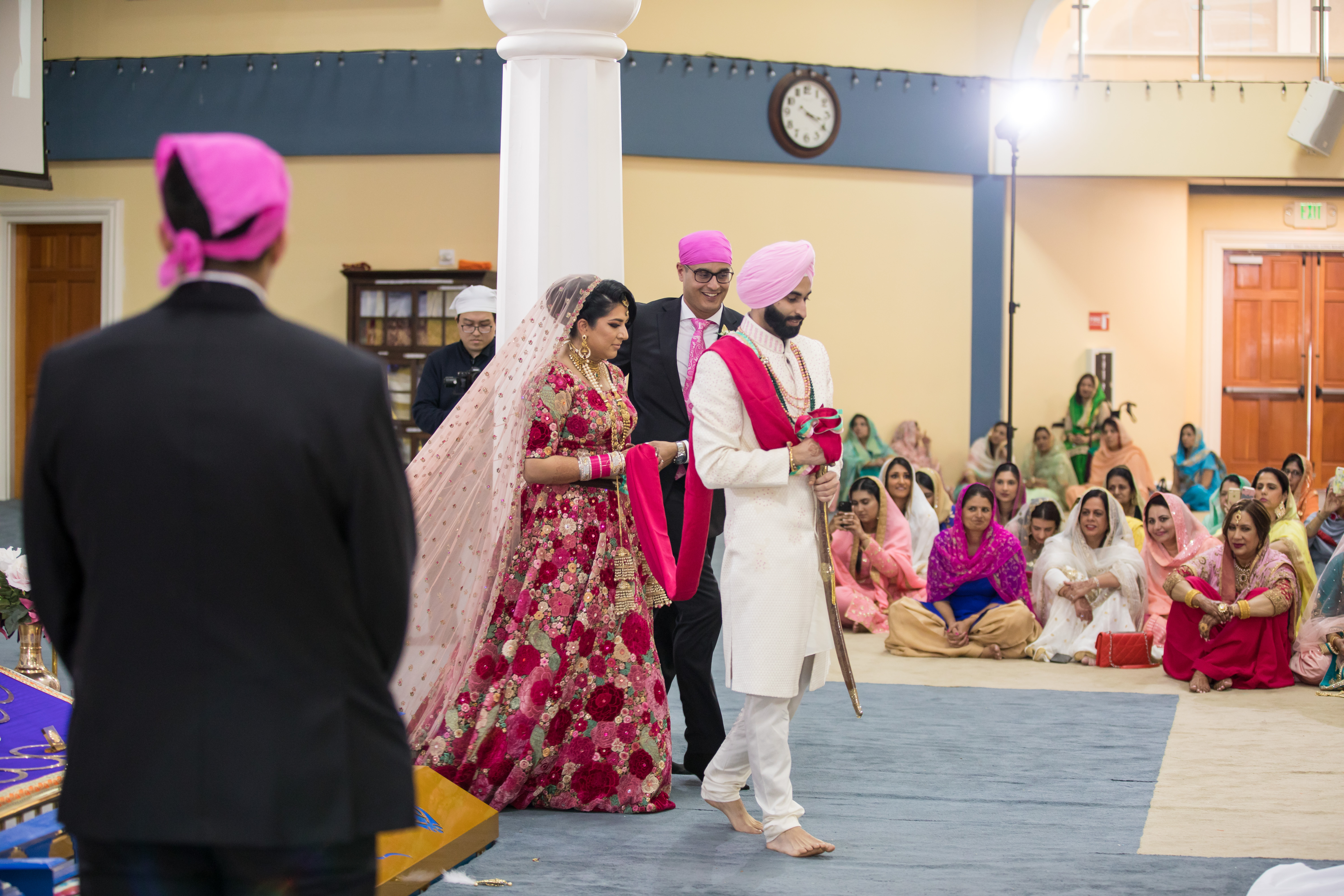 Indian Sikh Wedding Decorations
