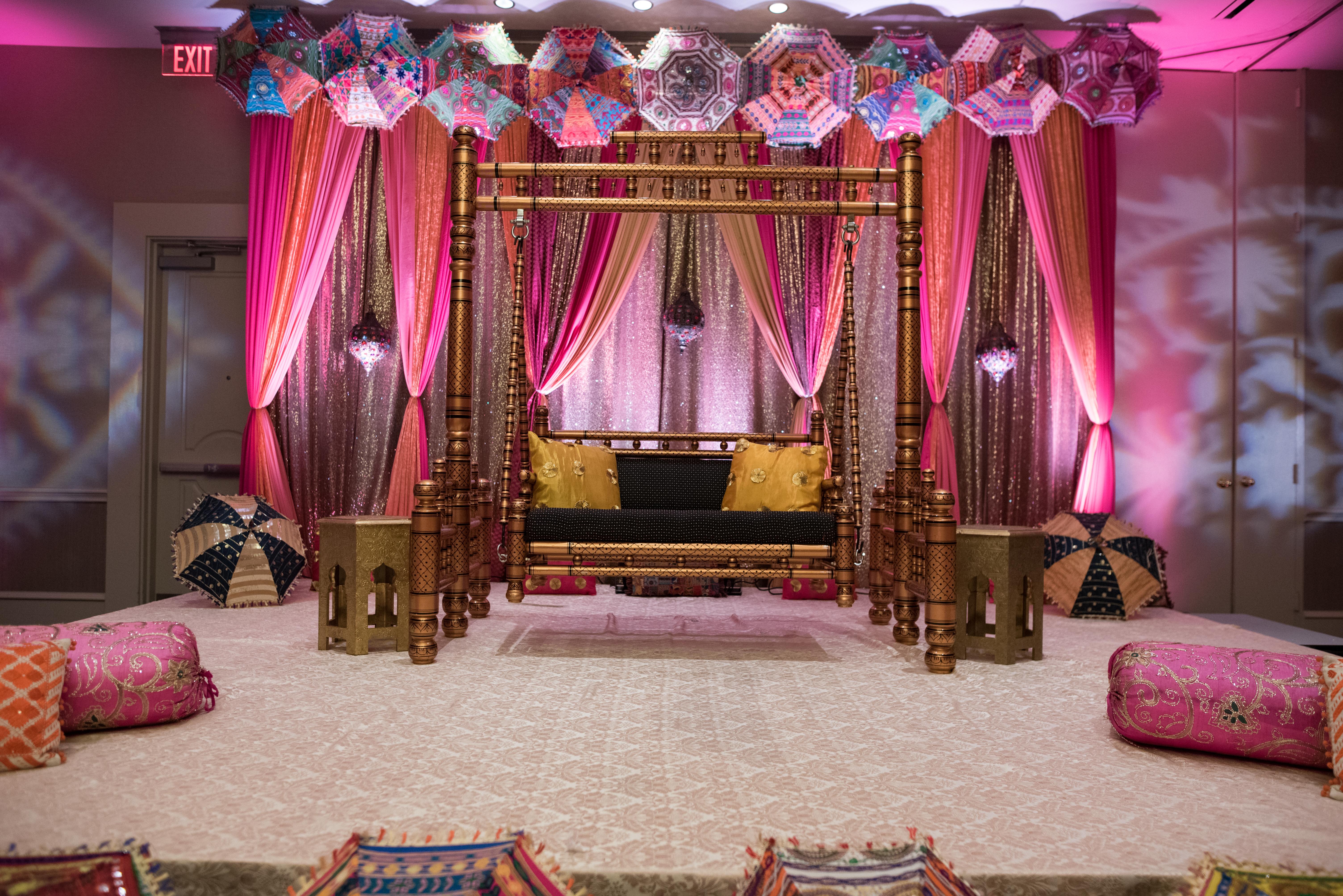 Mehndi & Sangeet Decorations - Bay Area
