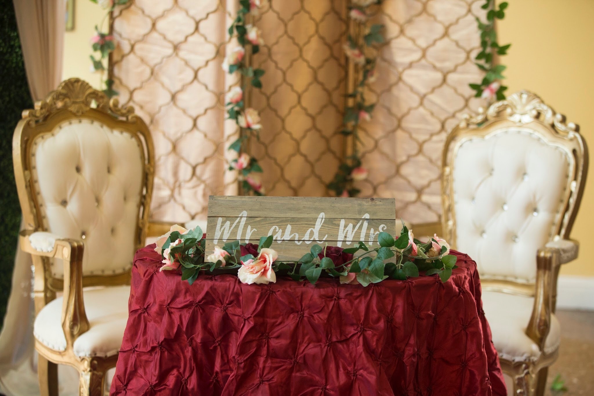 Sikh Wedding Ceremony & Gurdwara Decor