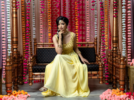 Indian Inspired Stylized Photo-Shoots