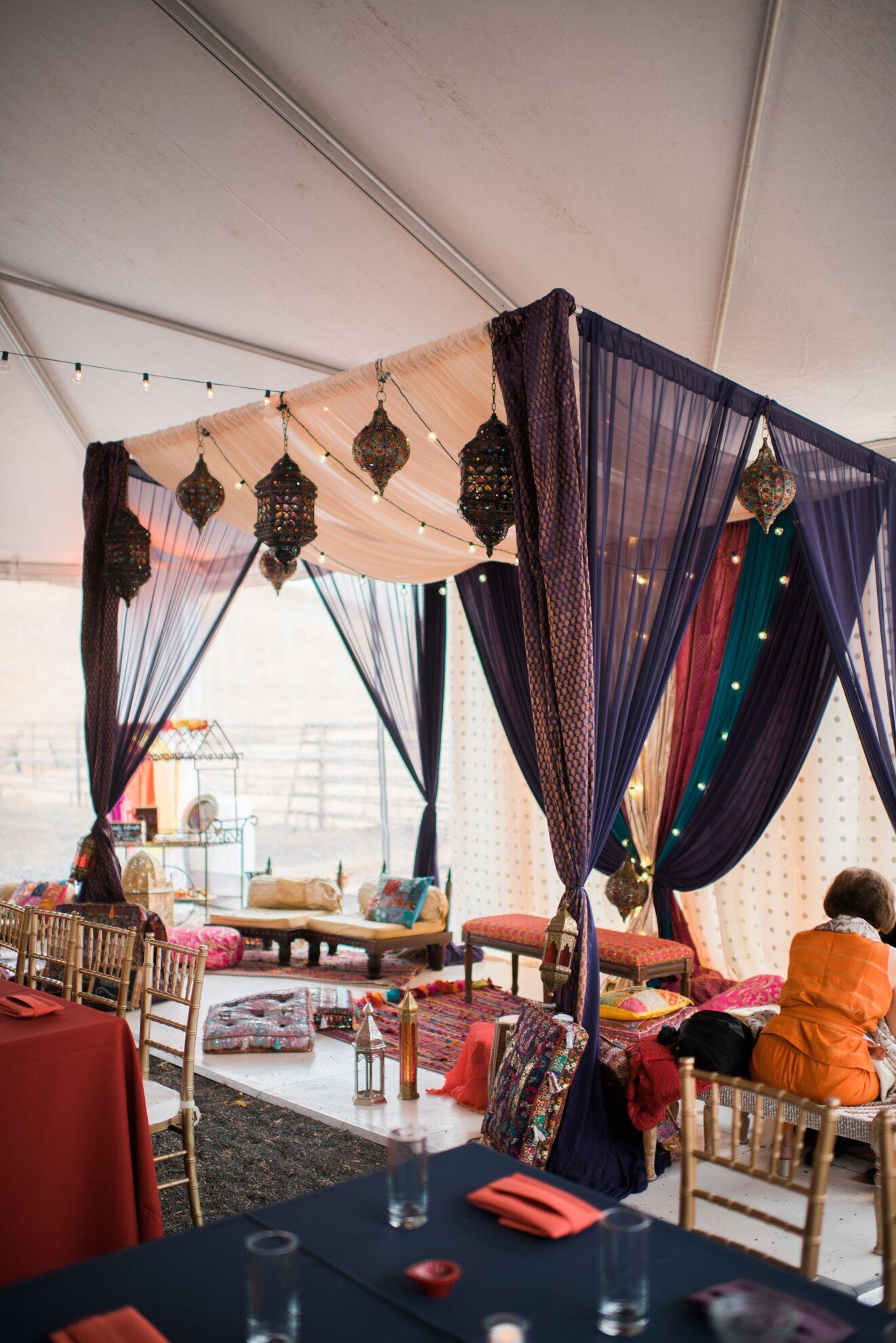 Preeti & Sanjay - Ceremony Decorations!