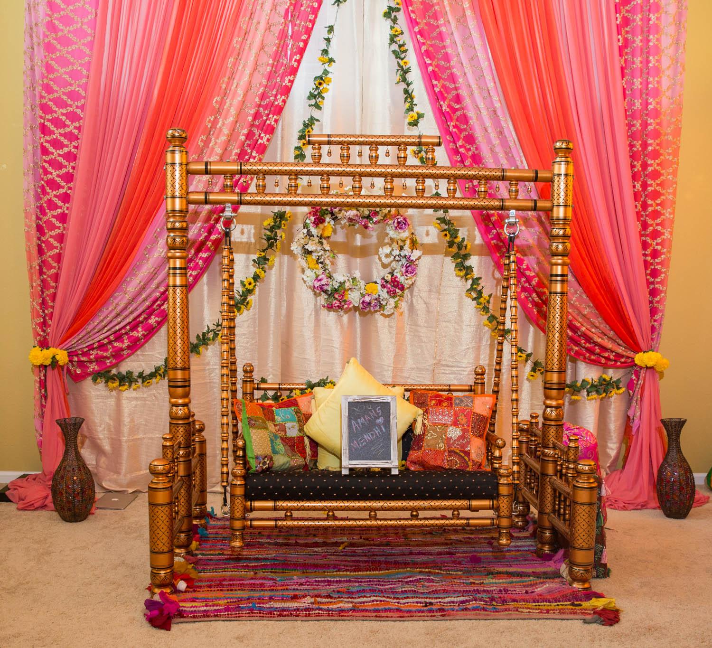Navi & Aman's - Home, Sangeet, Wedding & Reception Decorations!