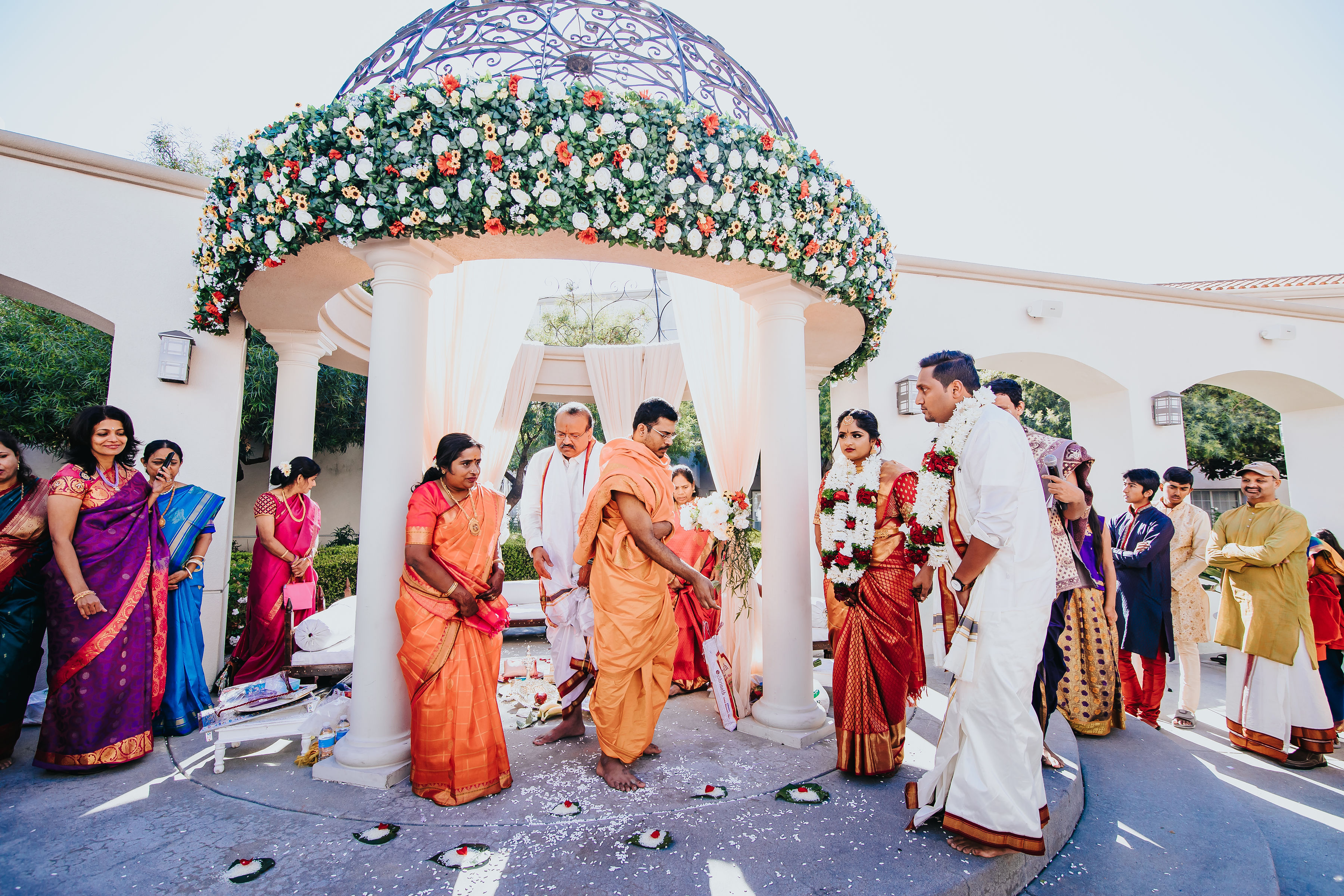 Kiran & Mohan - Ceremony Decorations!