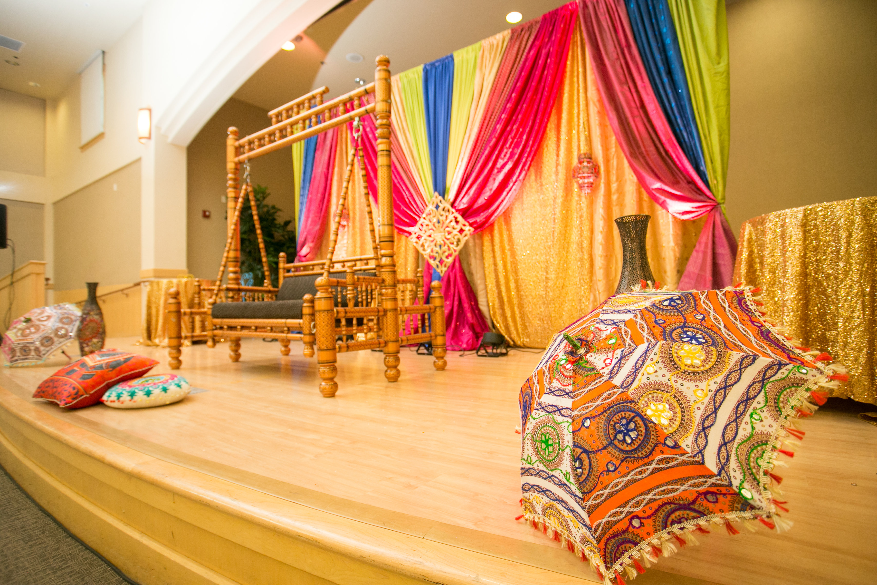 Deepika & Vatsal's - Sangeet Decorations!