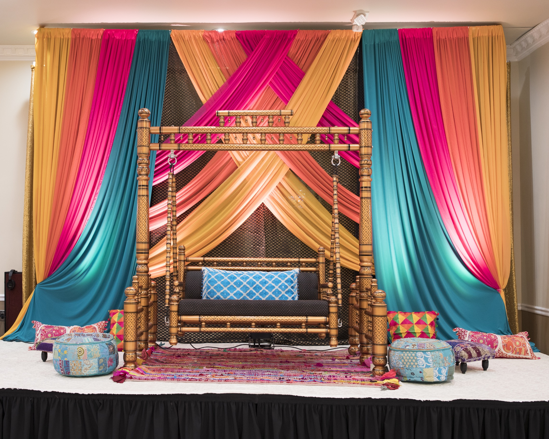Jasneet & Sean's Sangeet & Jago Decorations!