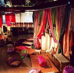 Indian Wedding Sangeet, Jago & Reception Decor