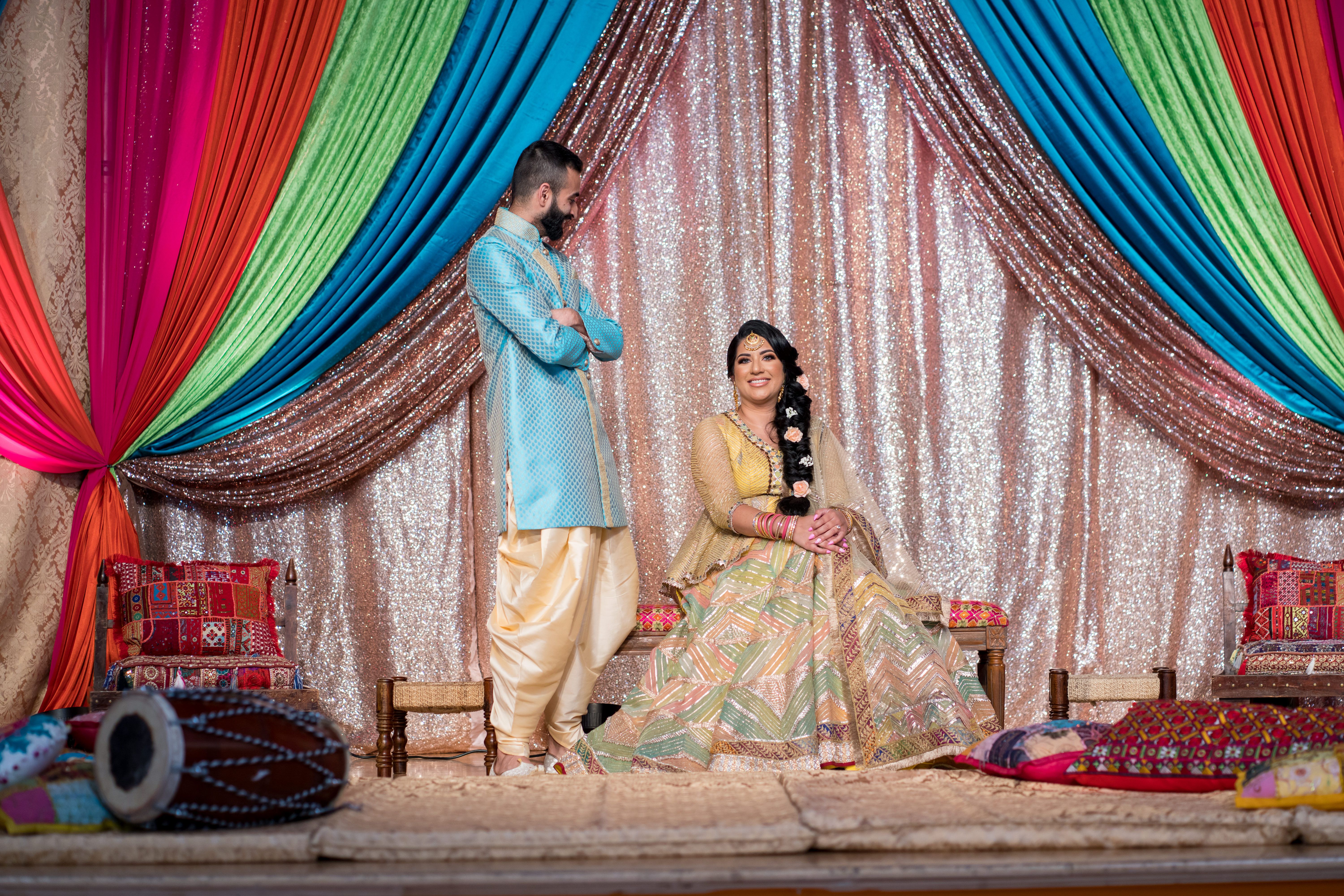 Indian Sangeet & Jago Decorations