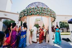 Kiran & Mohan - Ceremony Decorations!