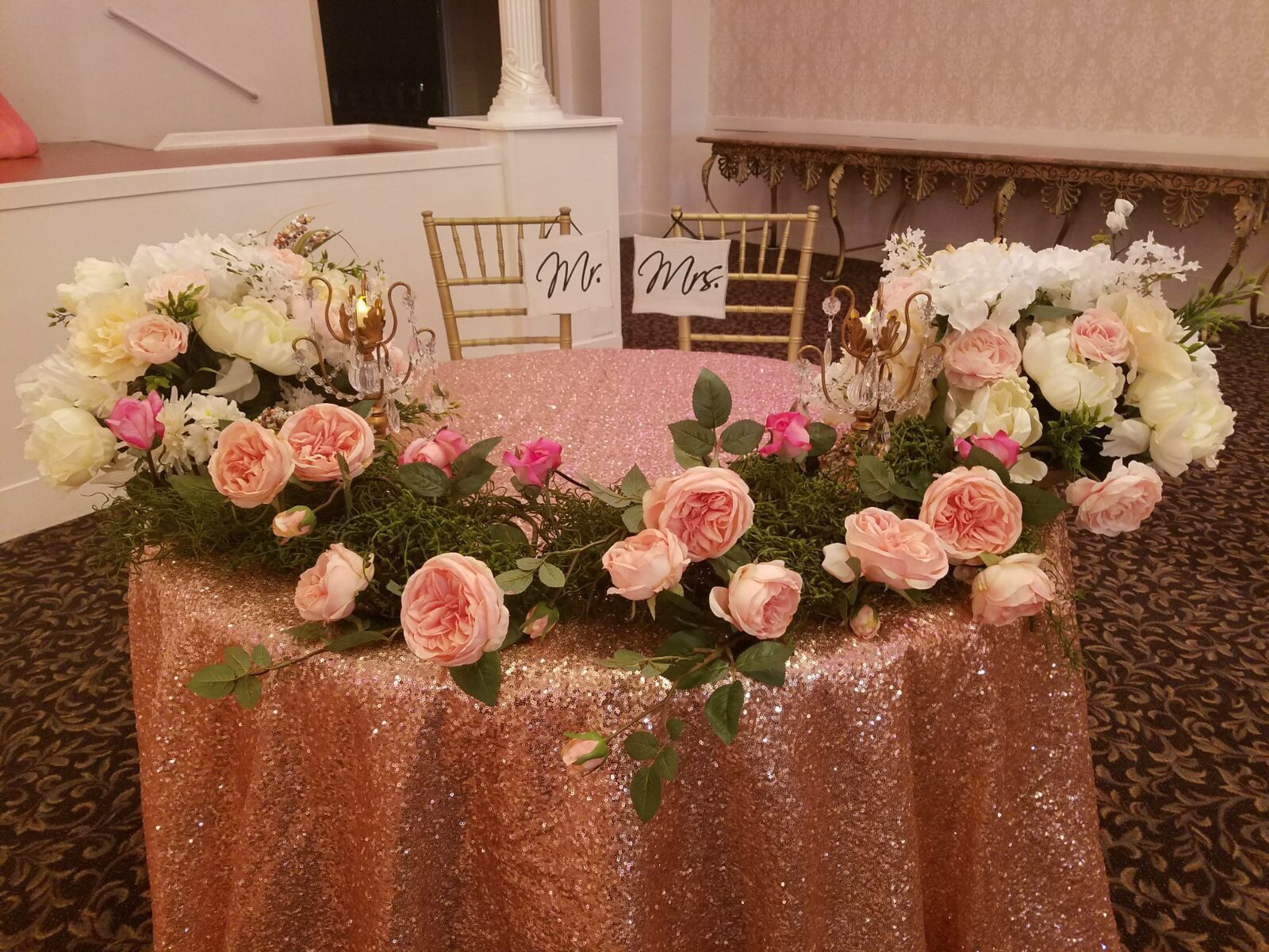 Sweet-Heart & Head Table Decor