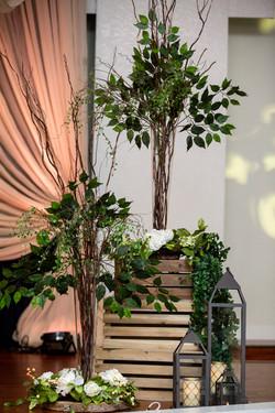 Reema & Jaspreet's - Reception Decorations!