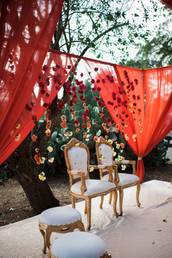 Preeti & Sanjay - Ceremony Decorations!