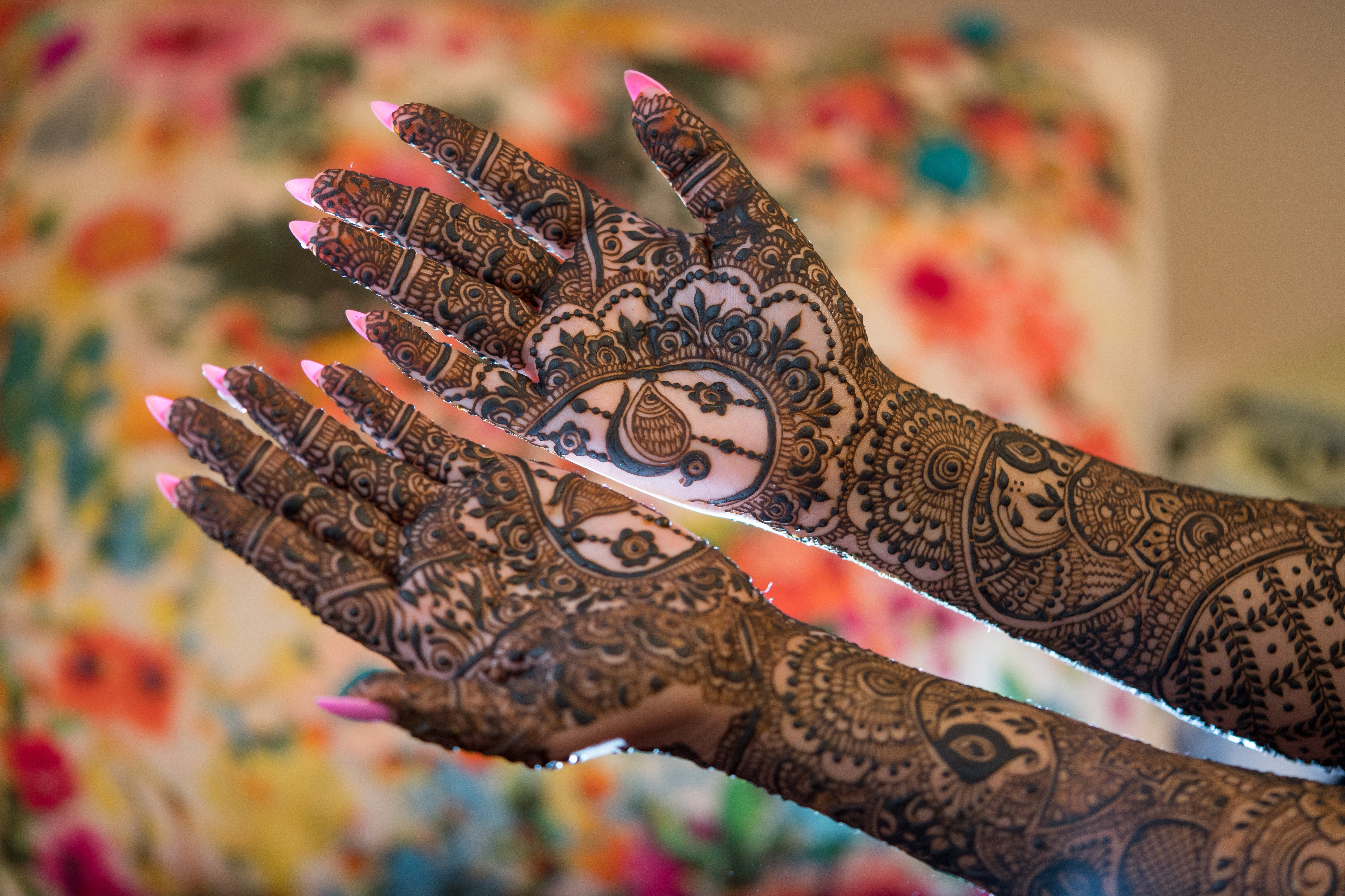 Indian Wedding Mehndi Decorations