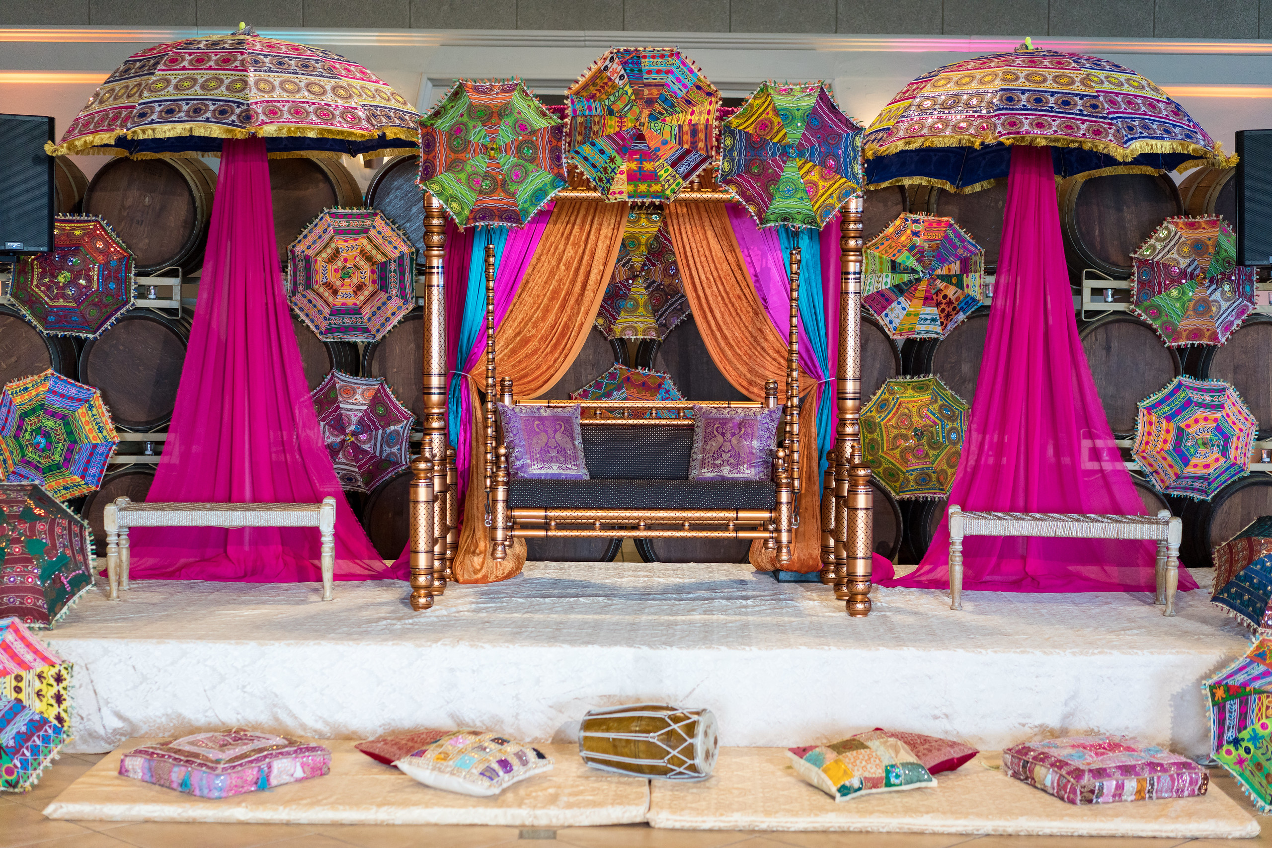 Kirndip & Baljinder  - Sikh Wedding Jaggo & Sangeet Decorations