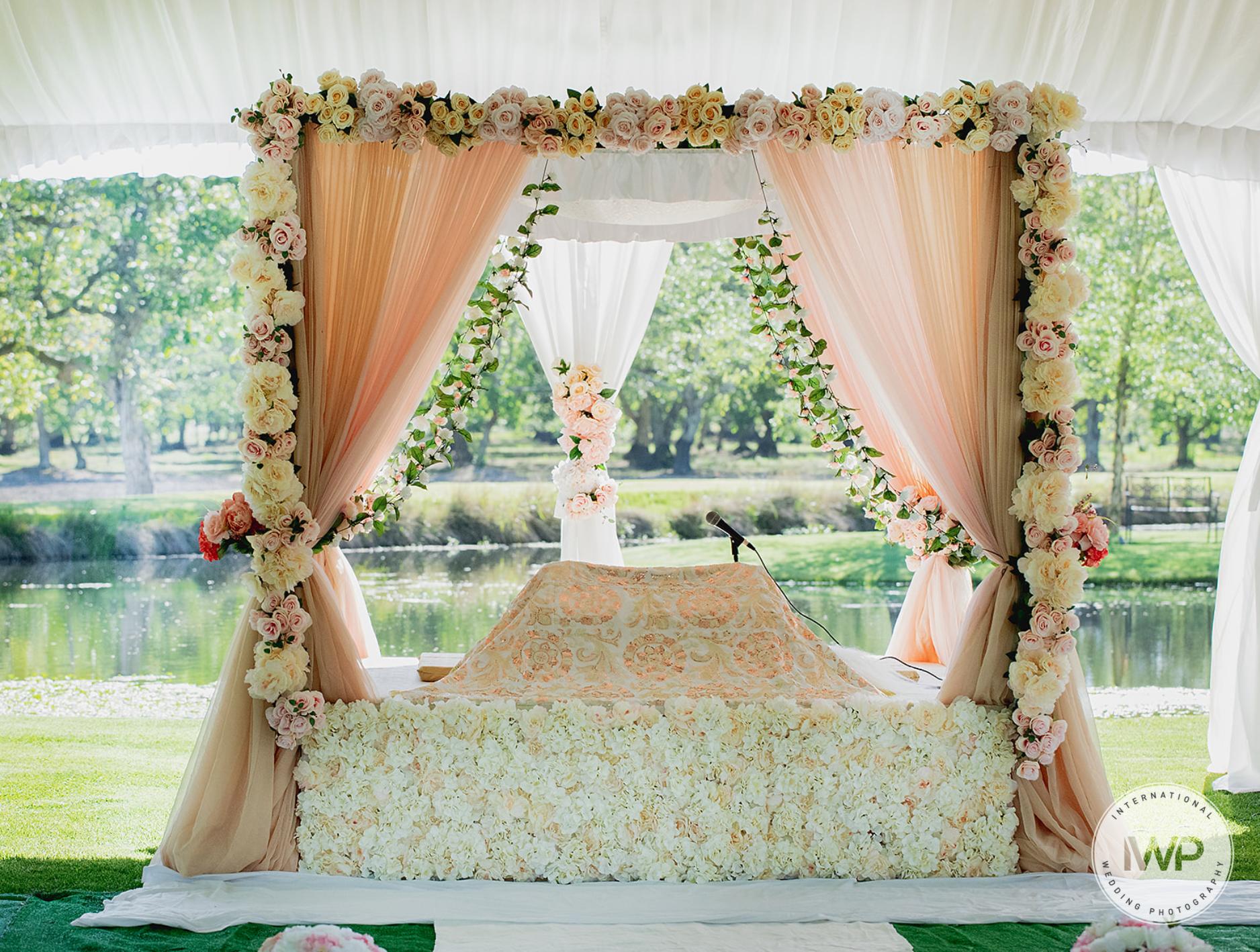 Harleen & Amit - Ceremony & Reception Decorations!