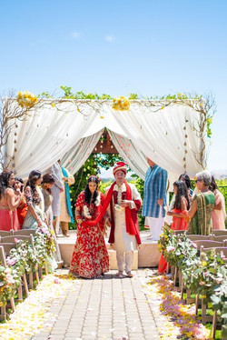Alex & Sheena's Mehndi & Ceremony Decorations!