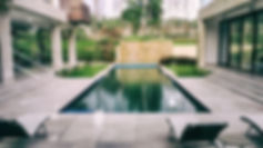 Poolside at the Farmhouse in Kapashera in Delhi; Designscapes is one of the best Architectural, Interior Design and Project Management Consultancy Firms in India