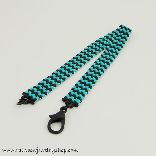 Striped Beaded Bracelet