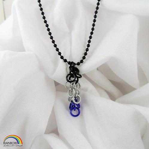 Asexual Pride Necklace
