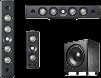 Sistema 5.1 Serie Concerta