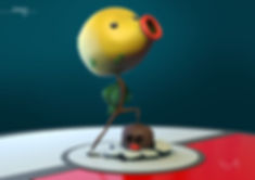 Bellsprout Winning pose