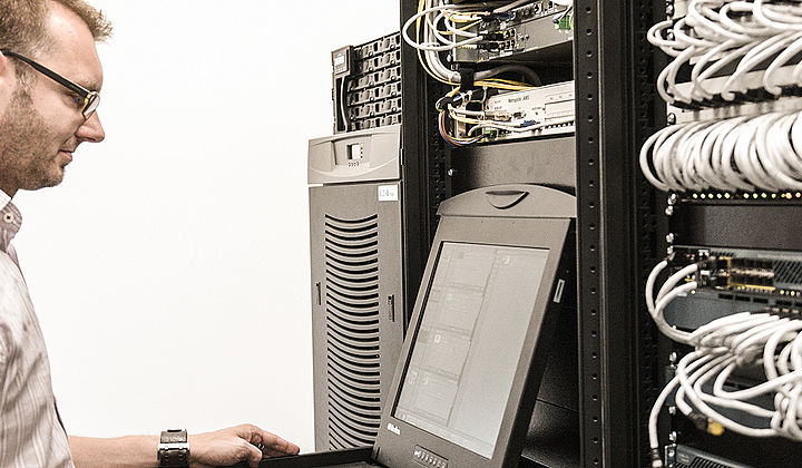 data center - tech servicing network