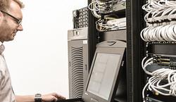 data center - tech servicing network