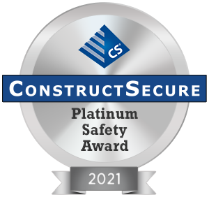 ConstructSecure Recognizes its Safest Contractors & Vendors of 2021