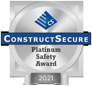 ConstructSecure Recognizes its Safest Contractors & Vendors of 2021