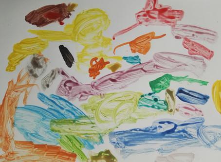 Monet, Renoir, Picasso, tout simplement Éléphant Bleu!