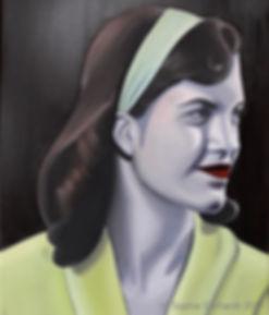 Sylvia, oil on canvas, 40 x 50 cm, 2017,