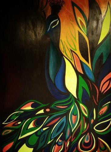 Acrylic-paint