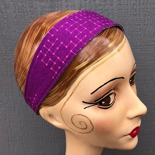 The Crafty Monkey reversible headband