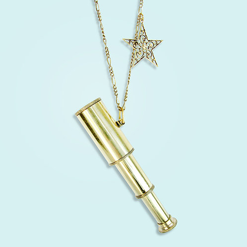 Ornamental Things Telescope Necklace