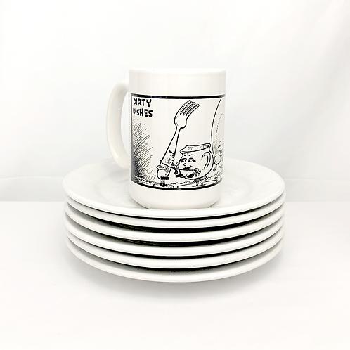 Sam Hurt Dirty Dishes Mug, funny gift, coffee mug