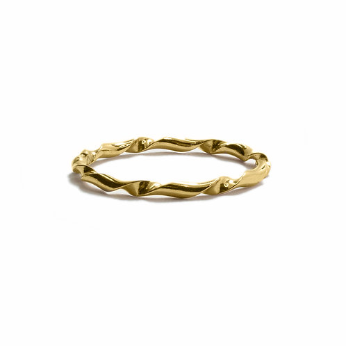 House of Eberstein Tiny Twist Stacking Ring