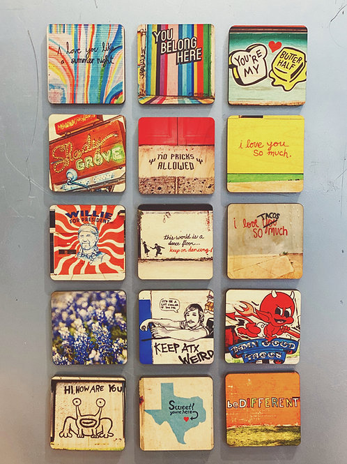 South Austin Gallery Magnets
