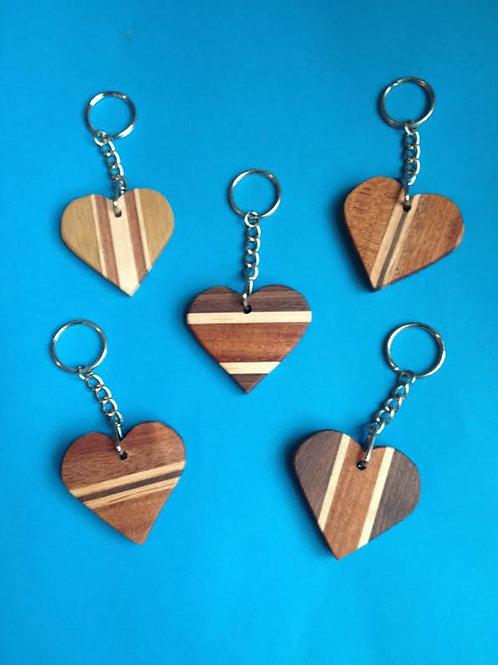 Coulbury Design Heart Keychain