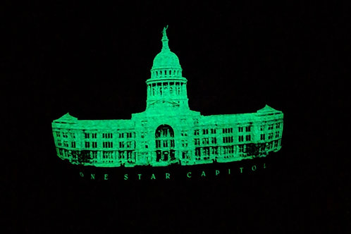 Kelly D Tees Texas Capitol Glow
