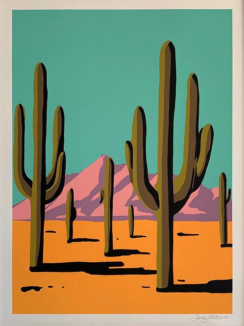 Landry McMeans Sonoran Desert Screenprint